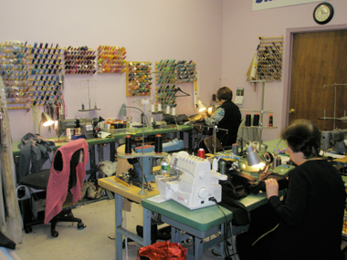 Silvia's Professional Seamstresses sewing alterations and custom garment making