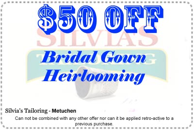 Silvia's Tailoring Store Coupon $50 off